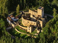 Ritter in der Burg Landštejn